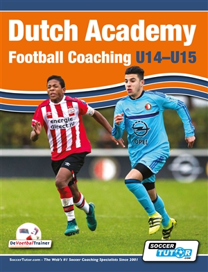 Dutch academy football coaching u14-15