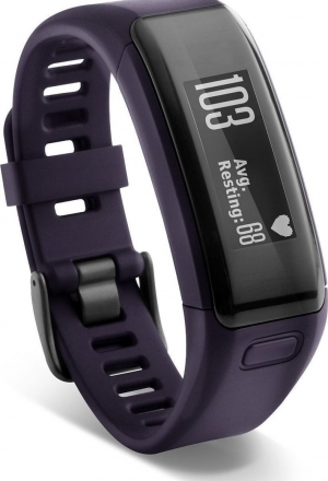 Garmin Vivosmart HR Purple (ελληνικό μενού)