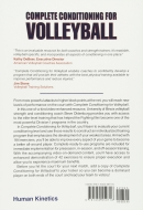 Complete Conditioning For Volleyball_backcover