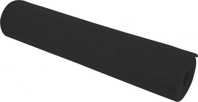 Στρώμα Yoga Anti-Scratch Μαύρο