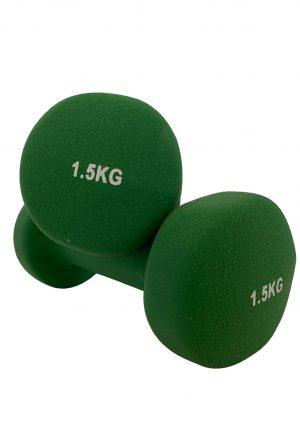 Βάρη Neoprene 2 x 1.50 kg