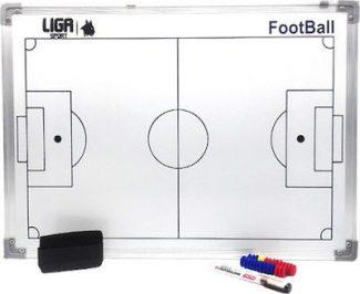 Μαγνητικός Πίνακας Τακτικής Ποδοσφαίρου 60x45 - LIGASPORT