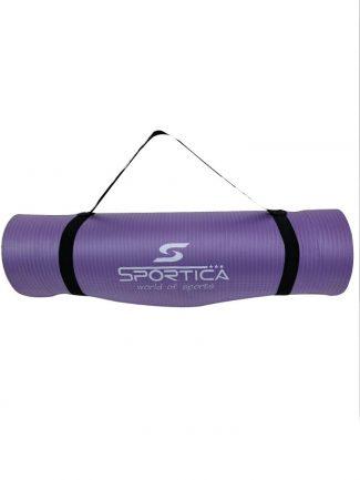 Στρώμα γυμναστικής yoga mat από NBR 1.80 μ., 10mm, μωβ