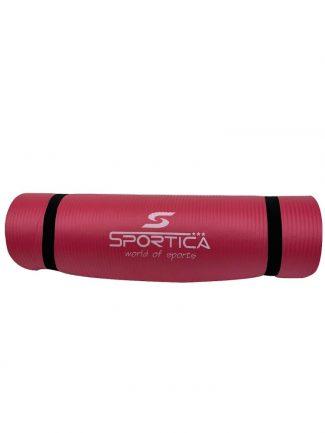 Στρώμα γυμναστικής yoga mat από NBR 1.80 μ., 10mm, κόκκινο