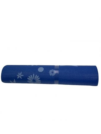 Στρώμα γυμναστικής yoga mat 1.70 μ., 6mm, μπλε - Sportica