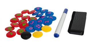 Select Magnet Set (Σετ μαρκαδόρος, μαγνητάκια, σφουγγάρι) για πίνακες τακτικής