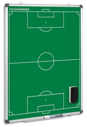 Μαγνητικός πίνακας τακτικής ποδοσφαίρου 90 x 60 cm πράσινος