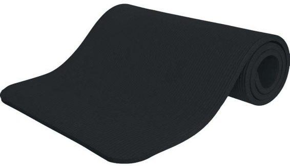 Στρώμα Γυμναστικής NBR 15mm 80Kg 183cm Μαύρο - Amila