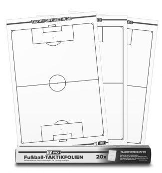 Αυτοκολλούμενα Φύλλα Τακτικής Ποδοσφαίρου Tactic foil 55 x 83 cm T-PRO