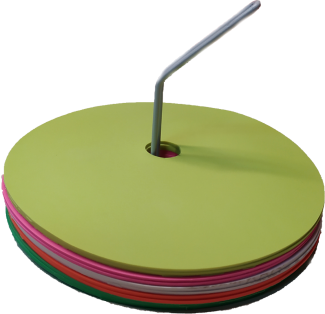 Σημάδια θέσης πολύχρωμα μεγάλου μήκους