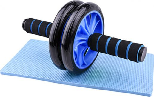 Roller (Ρόδα) Κοιλιακών Μπλε με Μικρό Στρώμα Liga Sport
